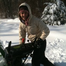 High school snow day leaves lots of time for plowing