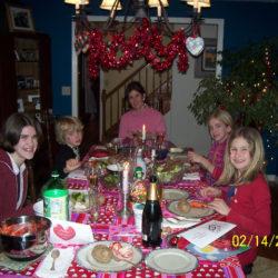 Special valentines dinner celebrates family love