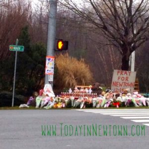 Roadside memorials popping up all over Newtown CT