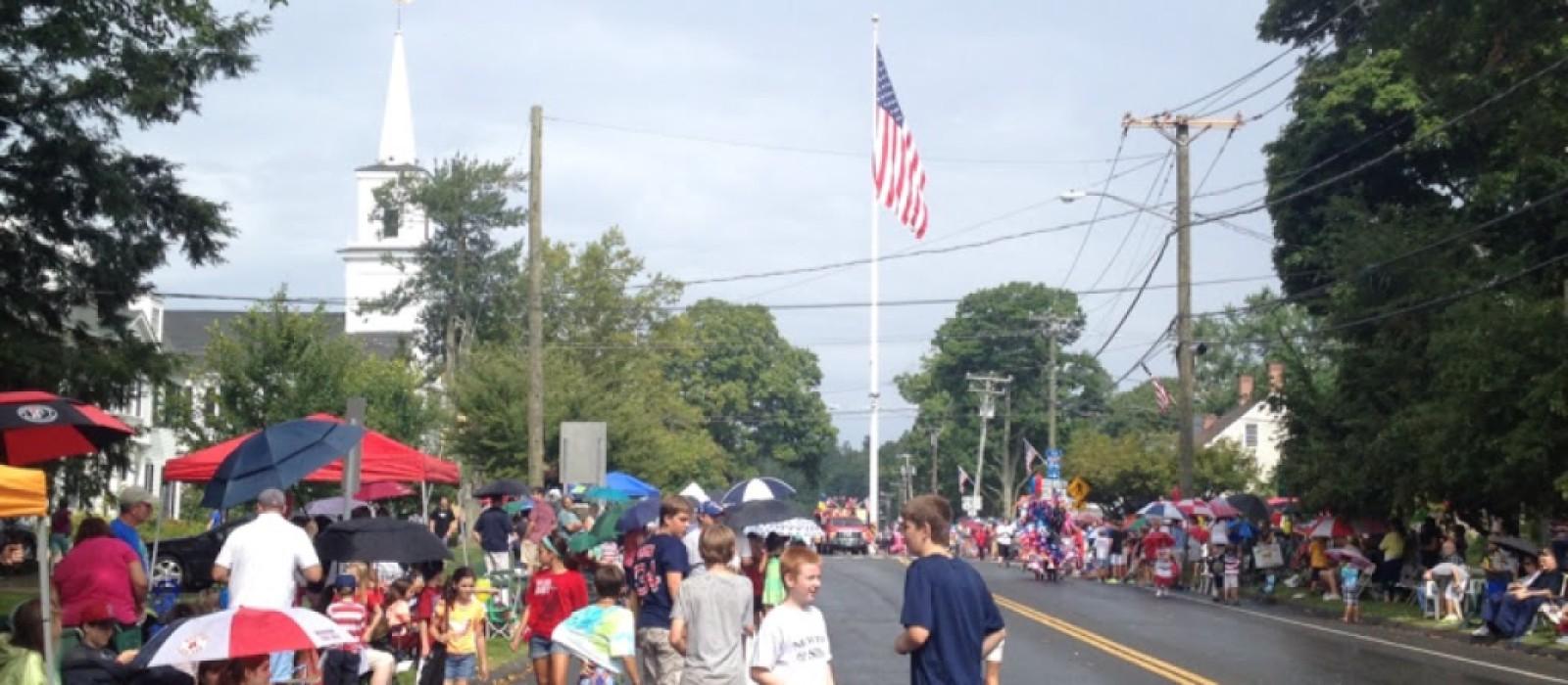 A Parade Hugs Newtown
