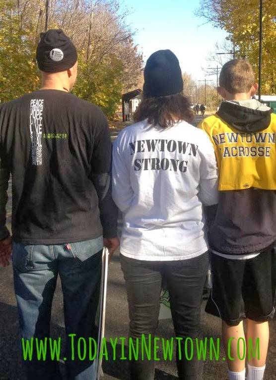 Standing Newtown strong at gun violence prevention rally