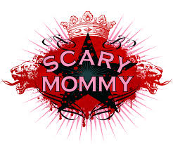 Kate Mayer appears on Scary Mommy with a fork