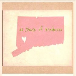 26 Days of Kindness honoring Sandy Hook victims