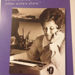 Kate Mayer attends erma bombeck writing workshop