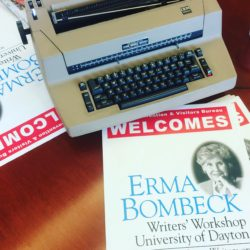 Kate Mayer at Erma Bombeck writers workshop