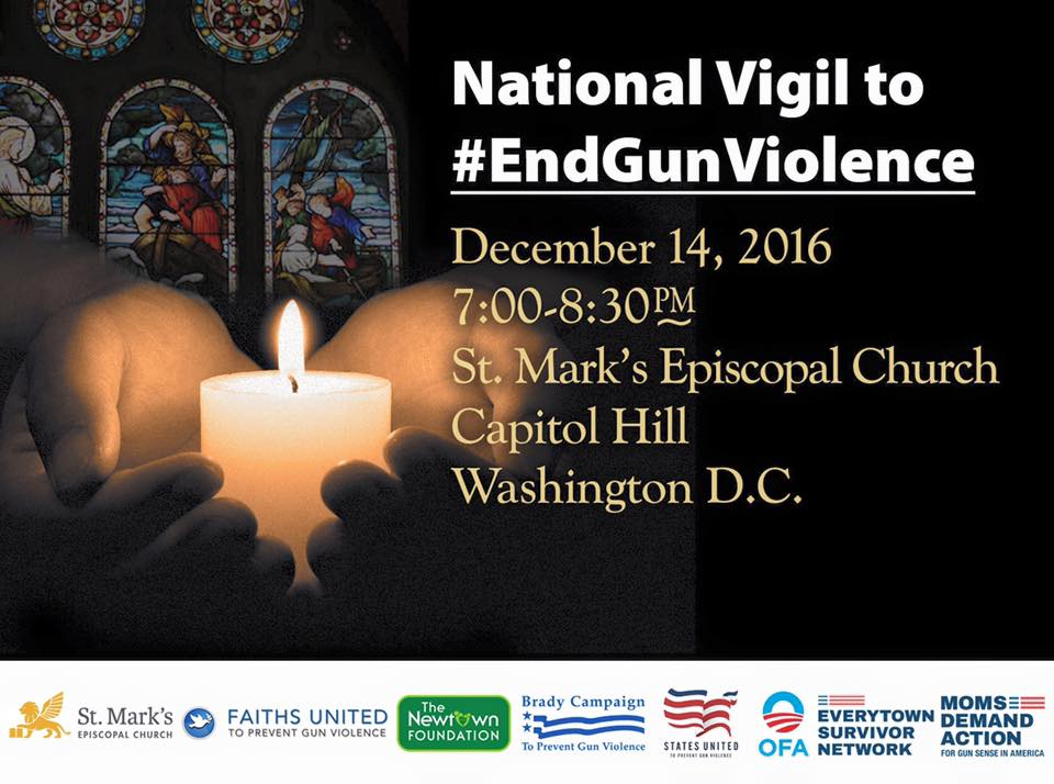 National Vigil to #EndGunViolence and #HonorWIthAction
