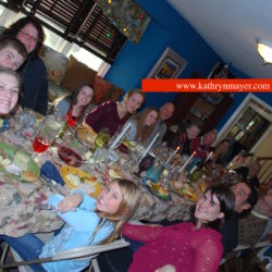 Kate Mayer shares family thanksgiving