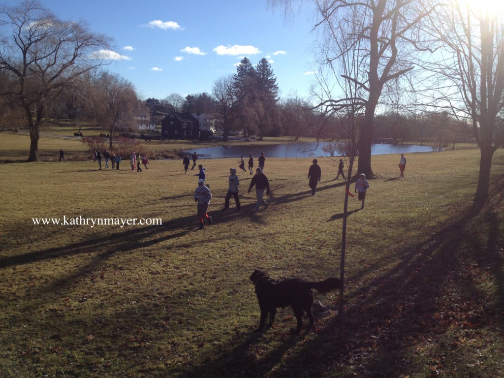 Newtown Capture-the-Flag game Thanksgiving tradition