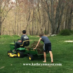 Why I make my kids do yardwork