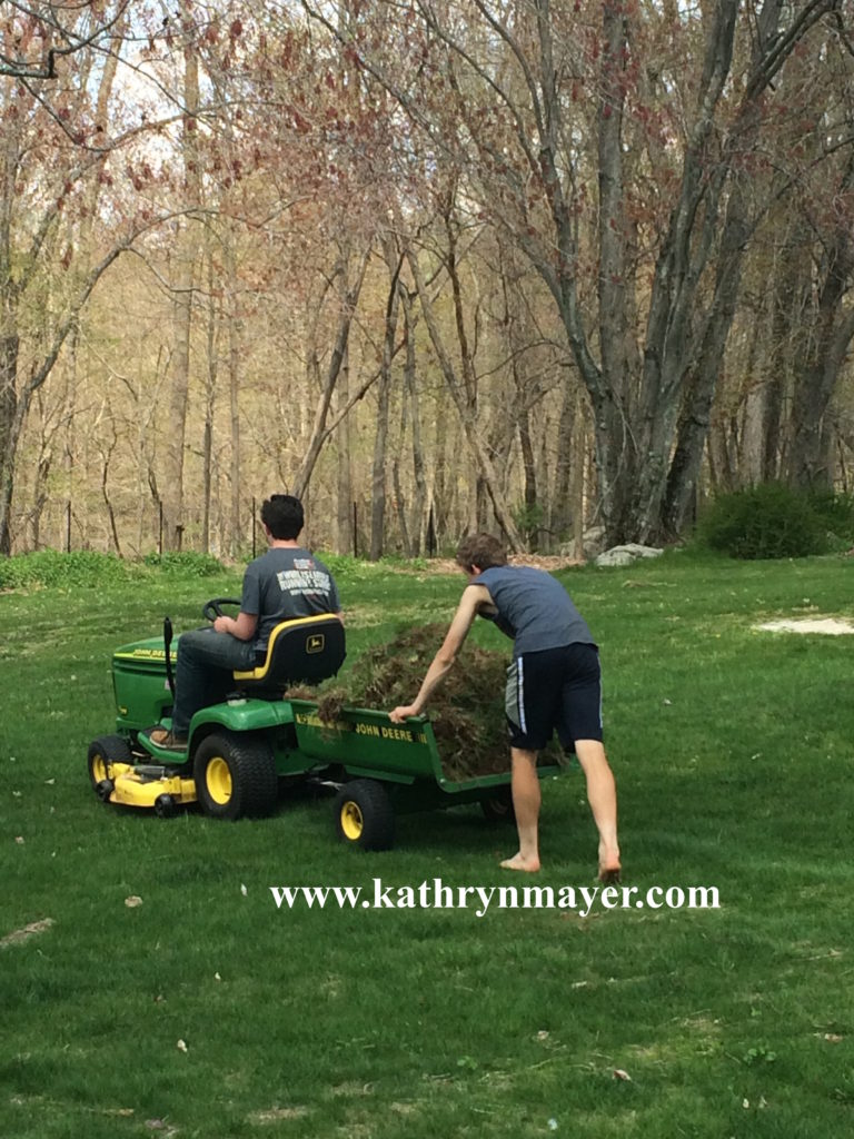 Good parents make kids do yard work