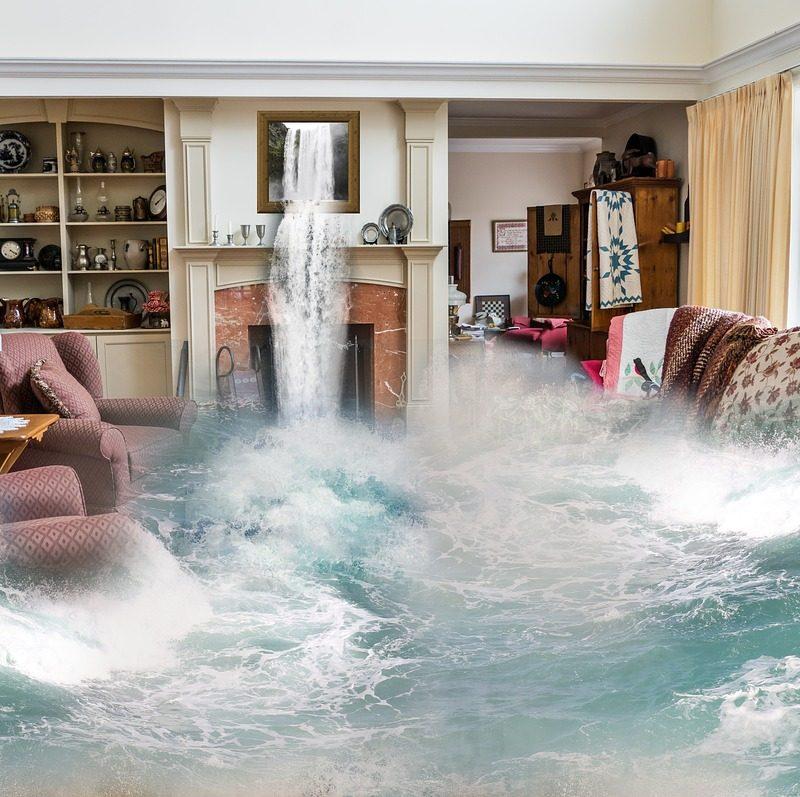 Emotional flood damage