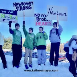 Newtown students rally in Hartford 2013