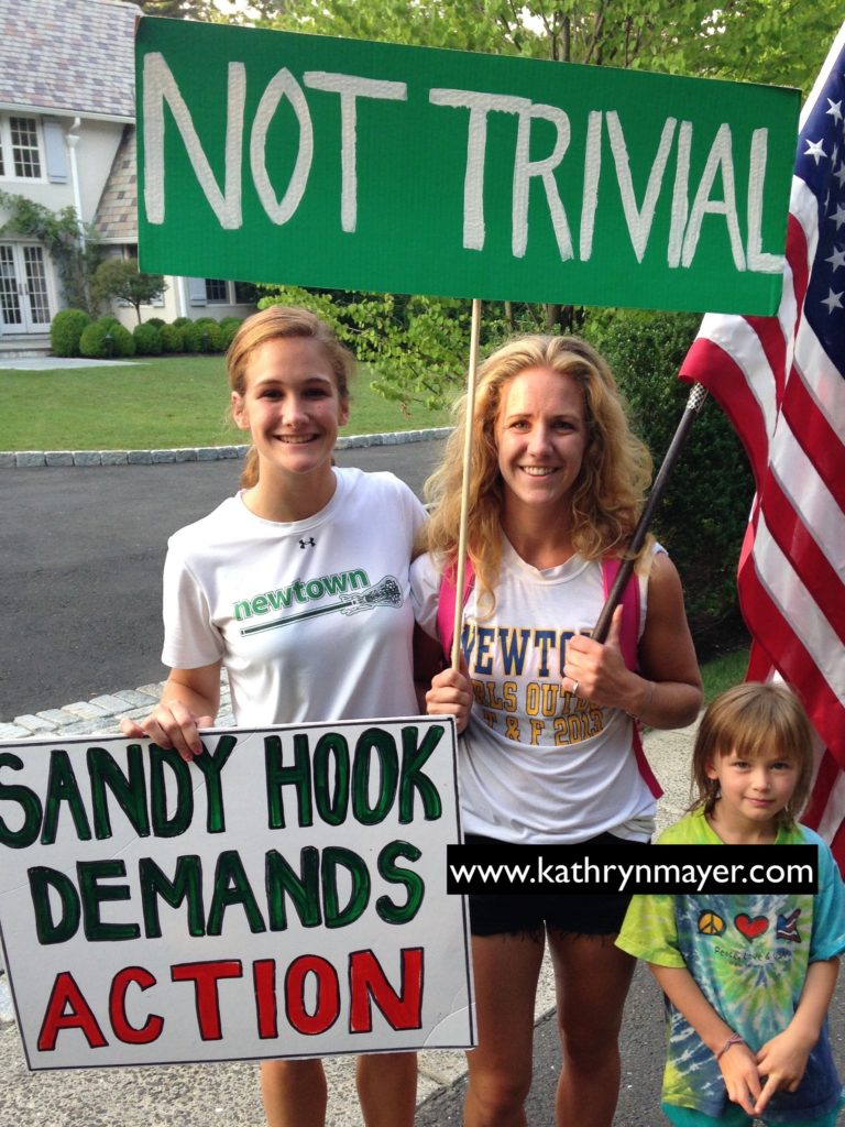 Newtown students protest Chris Christie offensive insults to Sandy Hook survivors
