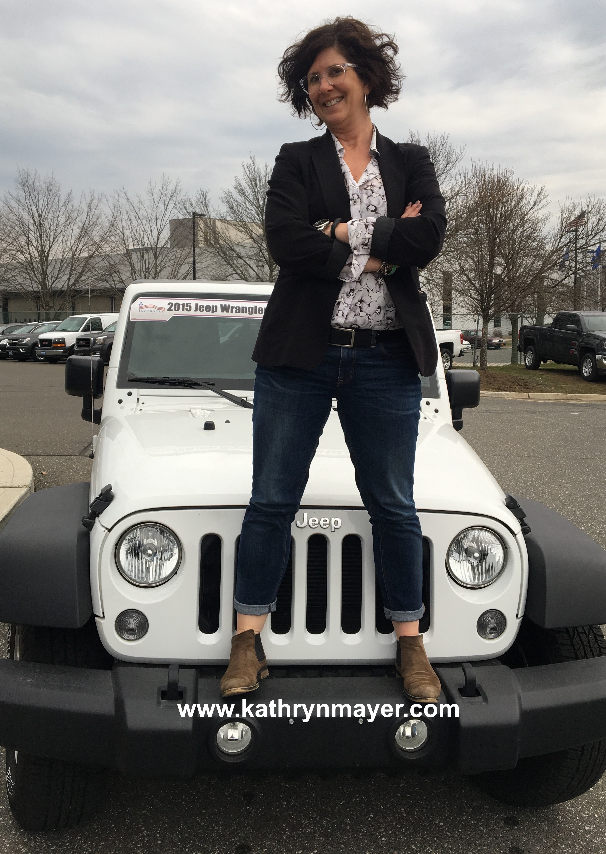 Why a woman trades in family car for Jeep