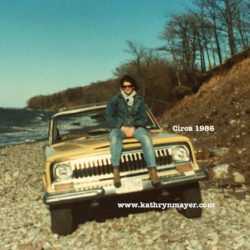 Off roading, circa 1986 in a Jeep Cherokee