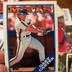 Gary Carter baseball card