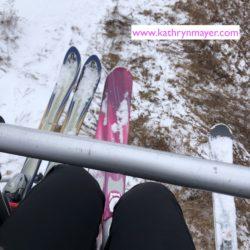 Ski lift at Hunter Mountain
